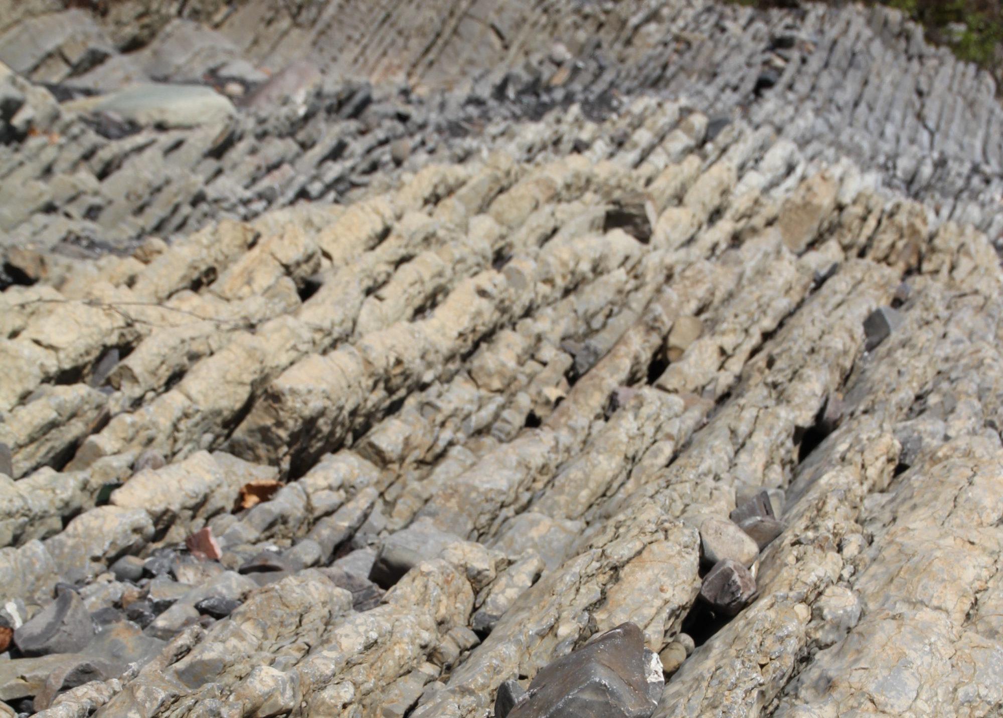 Synlige geologiske spor