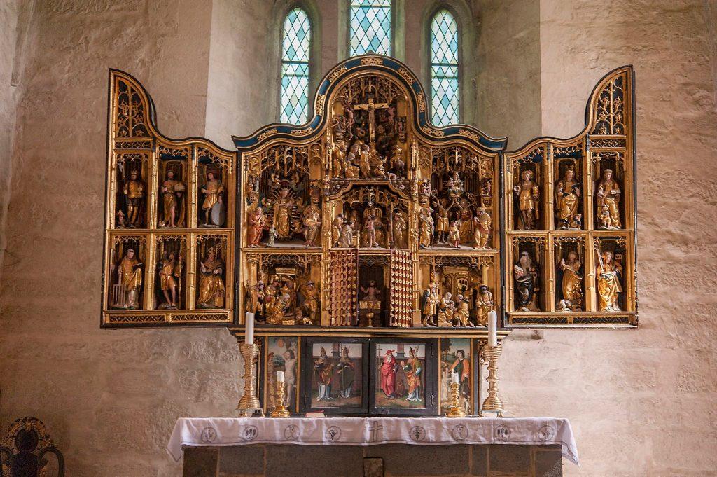 Alter tavle Ringsaker kirke